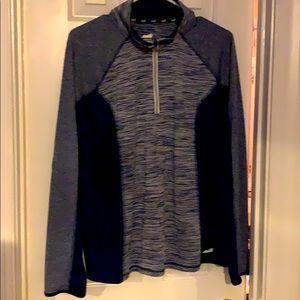 Avia Blue Half-Zip Pull Over Jacket XL